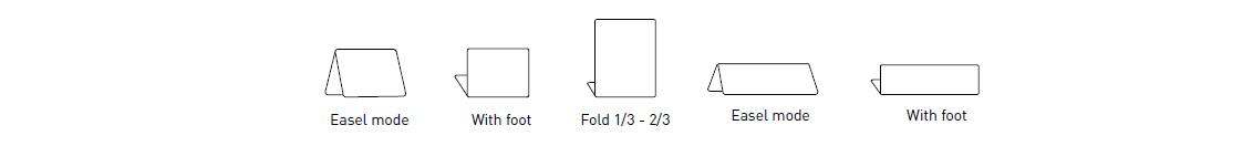 Edikio - Different ways to fold tags