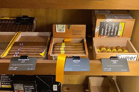 cigar price tags